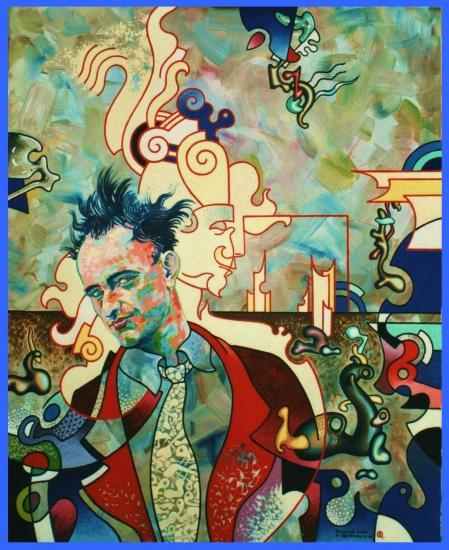Autoportrait au portrait de Yves Tanguy Yves Tanguy Portrait